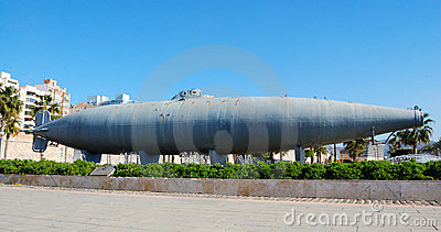 Cartagena submarine, spain