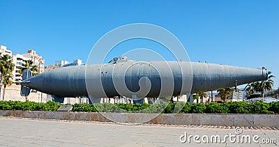 Cartagena submarine, spain