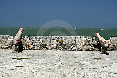 Cartagena Wall Cannon