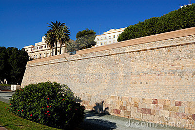 Cartagena walls, spain