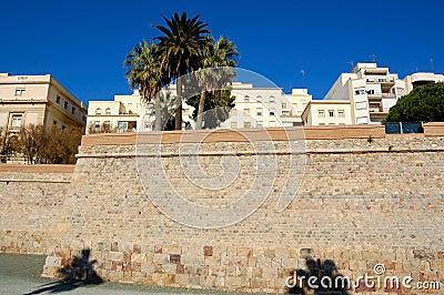 Cartagena walls, spain