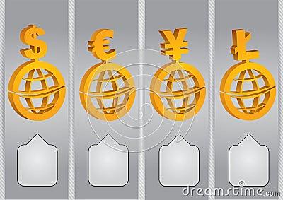 Cartas de la tarifa de la bolsa