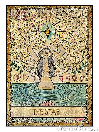 Resultado de imagen para tarot la estrella