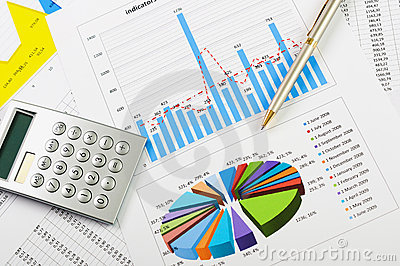 Cartas y gráficos de ventas