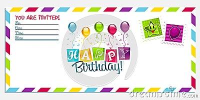 Carte D'invitation D'anniversaire En Anglais, Carte... | fiolazoezoey web