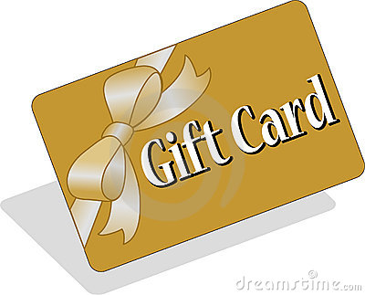 Carte de cadeau/ENV