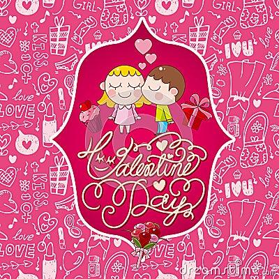 Carte de Valentines
