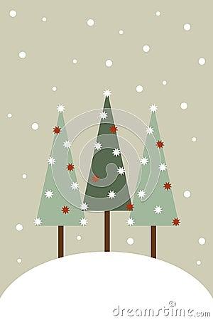 Carte de voeux de Noël