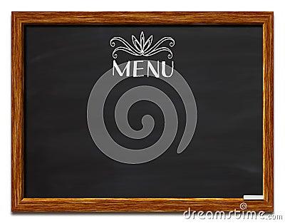 Carte sur le tableau noir image libre de droits image for Tableau noir restaurant