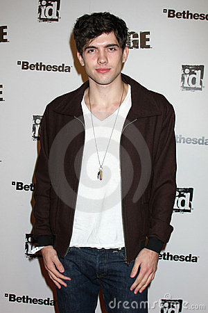 Carter Jenkins, Rage Editorial Stock Photo