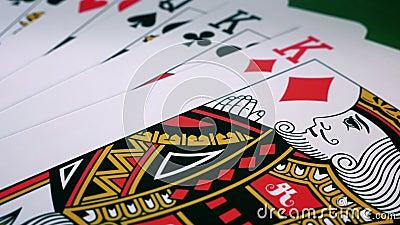 Cartes de poker banque de vidéos