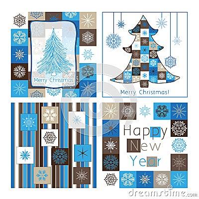 Cartões do Natal - compilação do carro quatro