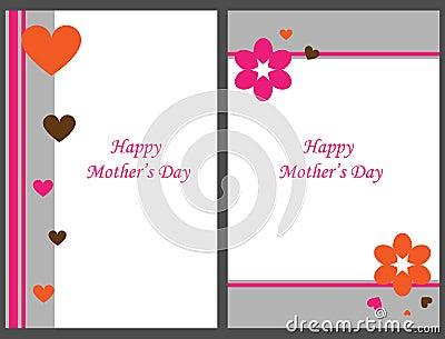 Cartes heureuses du jour de mère