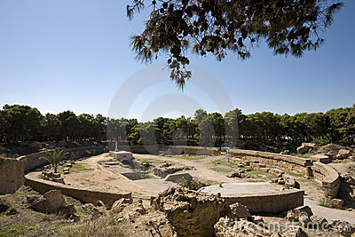 The Carthage amphitheatre