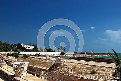Carthage in Tunisia Editorial Stock Photo
