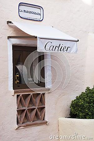 Cartier shop Editorial Photo