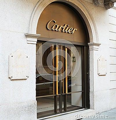 Cartier store Editorial Stock Photo