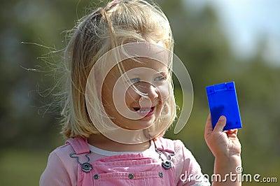 Cartão da terra arrendada da criança