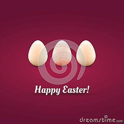 Cartão de Easter feliz