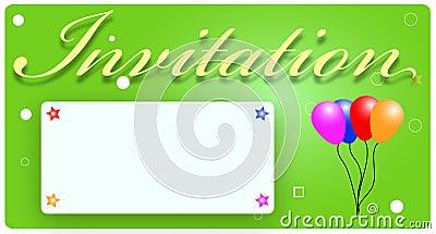 Cartão do convite