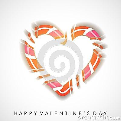 Cartolina d auguri felice di giorno di biglietti di S. Valentino,