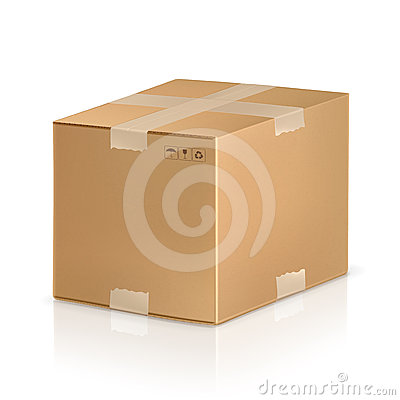 Free Carton Box Stock Images - 24548654