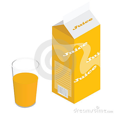 Carton of juice