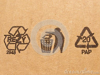Carton symbols