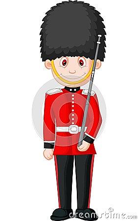 Free Cartoon A British Royal Guard Stock Photo - 34612590