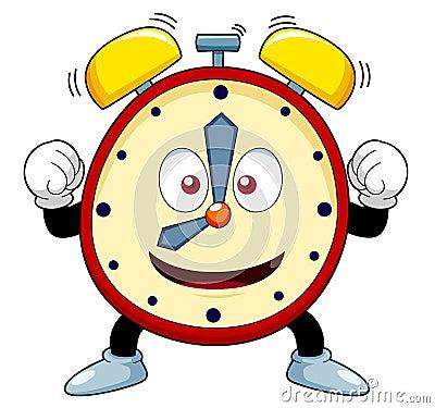 Free Cartoon Alarm Clock Royalty Free Stock Photography - 28115617