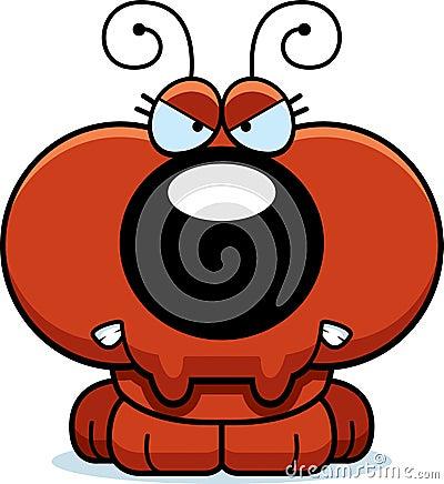 Free Cartoon Angry Ant Stock Image - 47089261