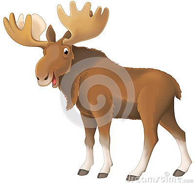 Free Cartoon Animal - Illustration For The Children Stock Photography - 37740642