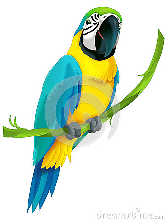 Free Cartoon Animal - Illustration For The Children Royalty Free Stock Photography - 37747557