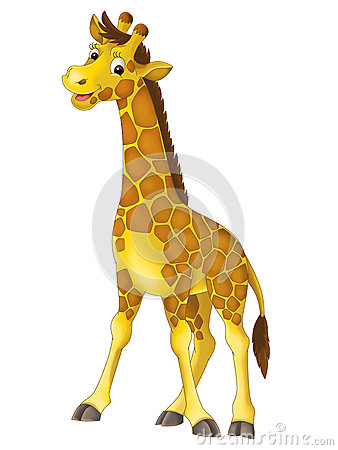 Free Cartoon Animal - Illustration For The Children Royalty Free Stock Photo - 37749845