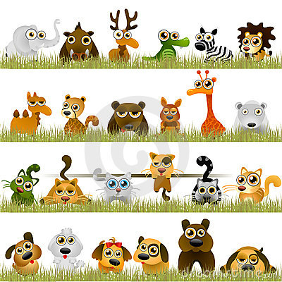 Free Cartoon Animals Stock Images - 14921304