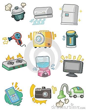 Cartoon Appliance Icon Royalty Free Stock Image - Image ...