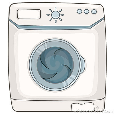 Cartoon Appliences Washing Machine