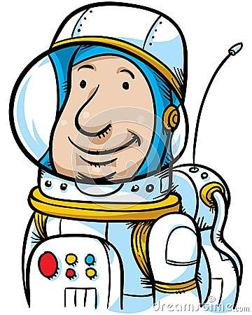 Cartoon Astronaut