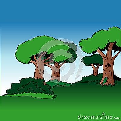 Free Cartoon Background 03 Stock Image - 2429851