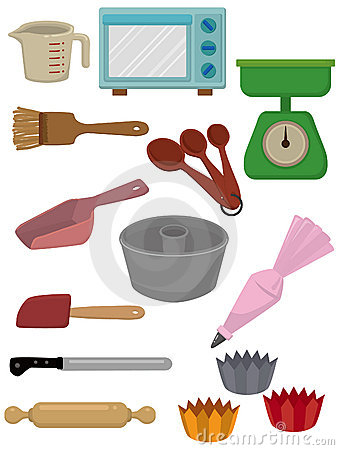 Cartoon Bake tool icon