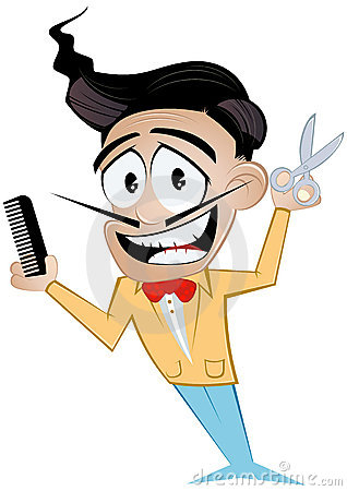 cartoon barber royalty free stock images image 17522399 barber clip art free barber clip art black and white