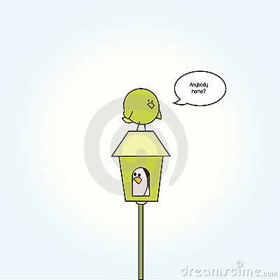 Cartoon birdies