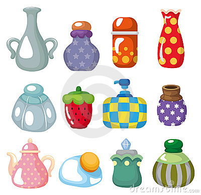 Free Cartoon Bottle Icon Stock Photo - 19281690