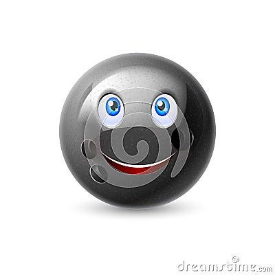 Free Cartoon Bowling Ball Character Royalty Free Stock Images - 61522959