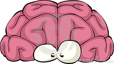 Cartoon Brain Royalty Free Stock Image - Image: 22627016