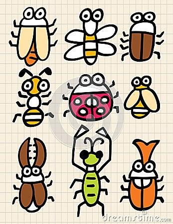 Cartoon bug