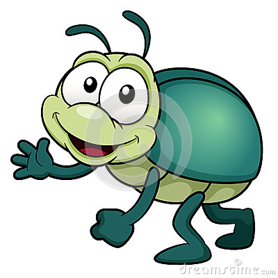 Cartoon Bug Royalty Free Stock Photos - Image: 29199888