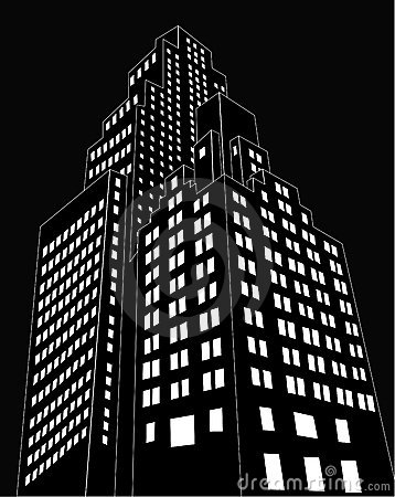 Free Cartoon Building Stock Photography - 11642032