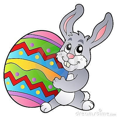 Cartoon Easter Bunny R...