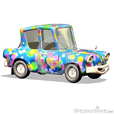 Free Cartoon Car No. 17 Stock Photo - 2372590